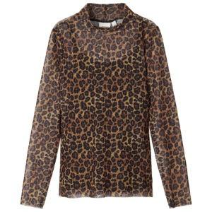 skir leopard blus