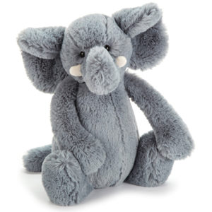 bashful elefant blue