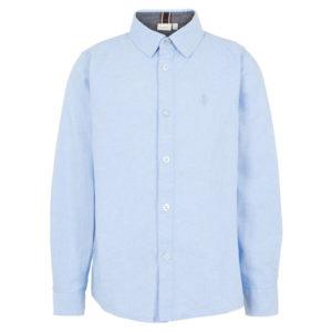 Blå skjorta framsida