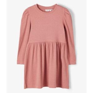 rosa klänning ribb